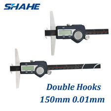 150mm Double Hooks Digital Depth Caliper 5113-150B