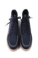 Original Louis Vuitton Men Leather Boots Blue Shoes size 43EU, 9.5US, 8.5UK