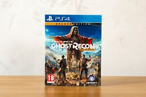 Tom Clancy's Ghost Recon Wildlands Deluxe Edition PS4 | Ubisoft | New & Sealed