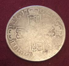 More details for queen anne 1707 e edinburgh half crown silver coin too good to scrap