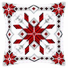 Vervaco-cross stitch coussin avant kit-snow crystal i-PN-0146119