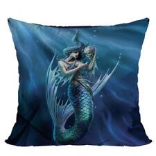 Sailor'S Ruin Mermaid Skull Decorative Pillow Cushion fantasy art Anne Stokes