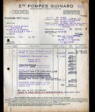 """SAINT-CLOUD (92) USINE de POMPES """"Ets. GUINARD"""" en 1948"""