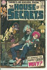 House Of Secrets #86 (DC, 1970) Vintage Horror Suspense!! By Neal Adams!! L@@K!