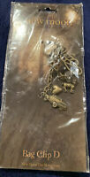 NECA NEW MOON Key Chain Ring Charms  Metal Brass Tone Car Bag Clip D NIP