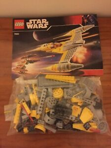 Lego Star Wars 7660 Naboo N-1 Starfighter and Vulture Droid