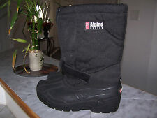 Alpine Design Model 8500 Heavy Duty Thickly Insulated Winter Boots Size 9