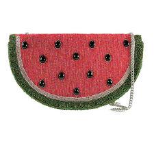 Mary Frances Watermelon Slice of Life Fruit Spring 16 Beaded Bag Handbag NEW