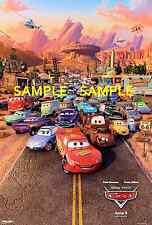 "Pixar - Disney Cars 2 - [ 8.5"" x 11"" ]  movie - Poster"