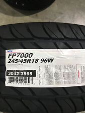 2 New 245 45 18 Ohtsu FP7000 Tires