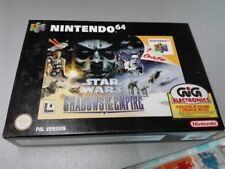 NINTENDO 64 STAR WARS SHADOWS OF THE EMPIRE PAL GIG NUOVO