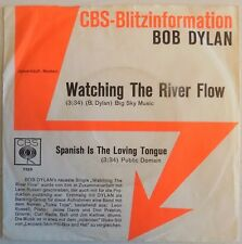 Bob Dylan - Watching The River Flow - 1971 - Germany 45 - Promo Sleeve - VG