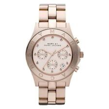 NEW MARC JACOBS MBM3102 LADIES ROSE GOLD BLADE WATCH - 2 YEAR WARRANTY