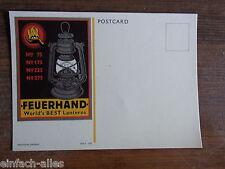 AK Feuerhand Laternen,Petroleumlampe - Postkarte aus alten Ladenbestand