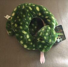 "FIESTA Green Spotted Tree Boa Snake Stuffed Plush Toy 44"""