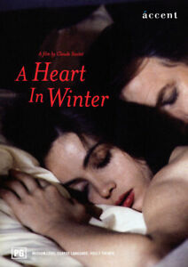 A Heart In Winter DVD 1992 French Movie - ENGLISH SUBS - Rare - AUSTRALIAN REG 4