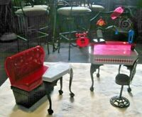 Monster High Die-Ner Playset ~ Furniture & Accessories