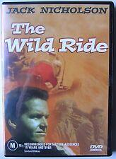 WILD RIDE (1960) DVD MOVIE Jack Nicholson, Georgianna Carter, Robert Bean