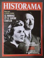 HISTORAMA N°14 A vril 1985-LE MARIAGE ET LE SUICIDE D'HITLER avec BUG impression
