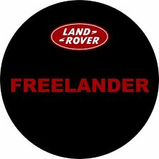 4x4 Spare Wheel Cover 4 x 4 Camper Graphic Sticker Freelander Land Rover 159