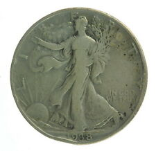 1938 D US Mint Silver Walking Liberty Half Coin