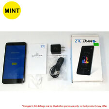 "Mint Zte Blade Z Max 32Gb Z982 Gsm Unlocked 4G Lte 6"" Dual 16Mp+2Mp Phone Black"