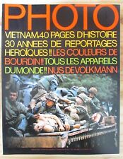 PHOTO MAGAZINE 1975 N° 94 SPECIAL VIETNAM 40 PAGES D HISTOIRE IMAGES CHOC