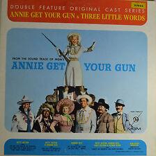"""ANNIE GET YOUR GUN & THREE LITTLE WORDS - ADOLPH DEUTSCH   12""""   LP  (Q501)"""