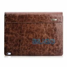 ICARER Microsoft Surface Book Case Removable Flip Real Leather Cover Briefcase