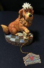 "New ListingJim Shore Peter Pan ""Nurturing Nana"" Dog Disney Traditions Showcase Collection"