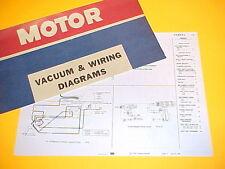 1975 1976 CHEVROLET CAMARO LT RALLY SPORT RS CHEVY VACUUM+WIRING DIAGRAMS