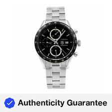 TAG Heuer Carrera Acero Dial Negro Reloj Automático Para hombres CV2010.BA0794