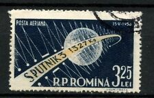 Space Used Romanian Stamps
