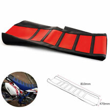 Double Stitched Seat Cover Rib Skin Protector for Most Dirt Bikes Motorcycles