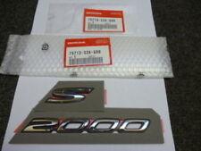 Genuine Honda S2000 Wing Badge Emblema 2000-2009