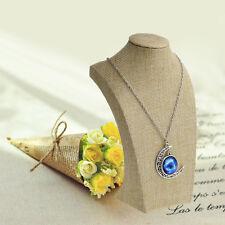 Linge De Mannequin Buste Bijoux Collier pendentif col Model Display Stand Holder