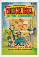 Chick Bill 1984 Nº 12 Bastion Verlag en état de 1!!!