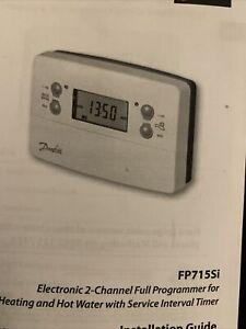 Danfoss Randall TS715SI Electronic Timeswitch - White