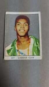 PANINI CAMPIONI DELLO SPORT 1966 377 CASSIUS CLAY BOXING!!!!!!!!!!!!!!!!!!!!!!
