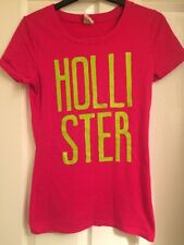 Ladies Hollister Hot Pink Top  - Excellent Condition - Size S Small
