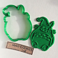 Christmas Totoro Smile cookie cutter - Studio Ghibli - 1pcs - 3dprinted (PLA)
