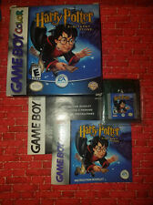 Harry Potter & the Sorcerer's Stone Complete in Box (Nintendo Game Boy) Game