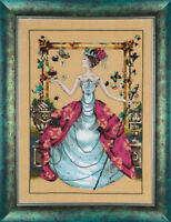"""SALE! COMPLETE XSTITCH KIT """"QUEEN MARIPOSA"""" by Mirabilia"""