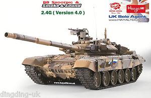 Heng long Radio Remote Control 1/16 RC Tank T90 UK  6.0S Version UK
