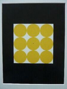 """JOSEF ALBERS - Siebdruck / Seriegraphie 1963 """"Form & Farbe"""""""