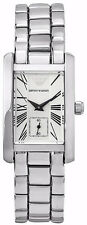 Emporio ARMANI Classic Watch Silber/Perlmutt Quarz Damen Uhr