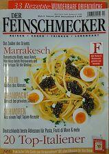 Der Feinschmecker Heft 2 Febr.2016 Reisen,Essen,Trinken,Lebensart, ungelesen 1A