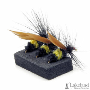 3, 6 or 12x Welshmans Button Dry Flies for Trout Fly Fishing