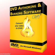 CONVERT ANY VIDEO TO DVD AND ALSO BURN THEM TO CREATE NEW ONES OR COPIES! P&P!