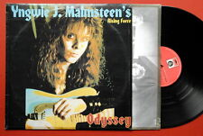 YNGWIE MALMSTEEN'S RISING FORCE ODYSSEY RARE UNIQUE LABEL EXYUGO LP